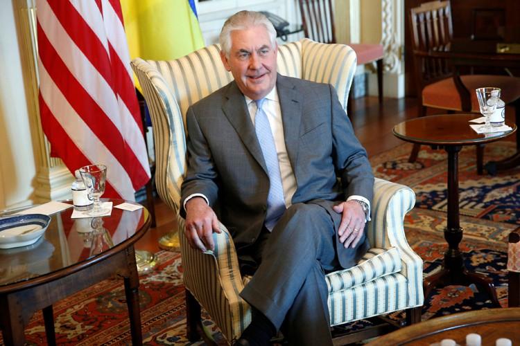 Rex Tillerson, ancien PDG du géant pétrolier ExxonMobil,... (PHOTO REUTERS)