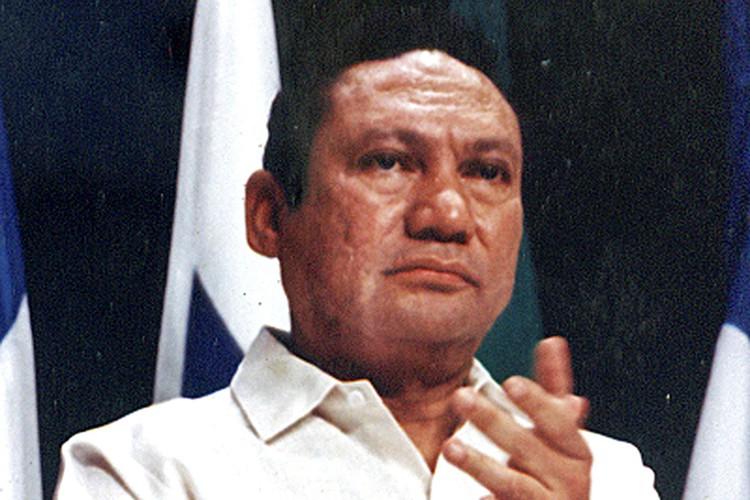 Manuel Noriega s'était rendu en janvier 1990 après... (ARCHIVES REUTERS)