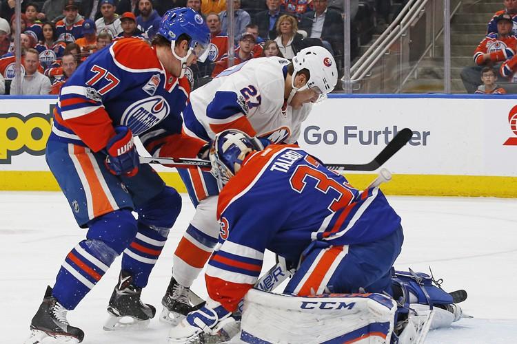 Anders Lee a marqué deux buts et il a guidé les Islanders de... (PHOTO REUTERS)
