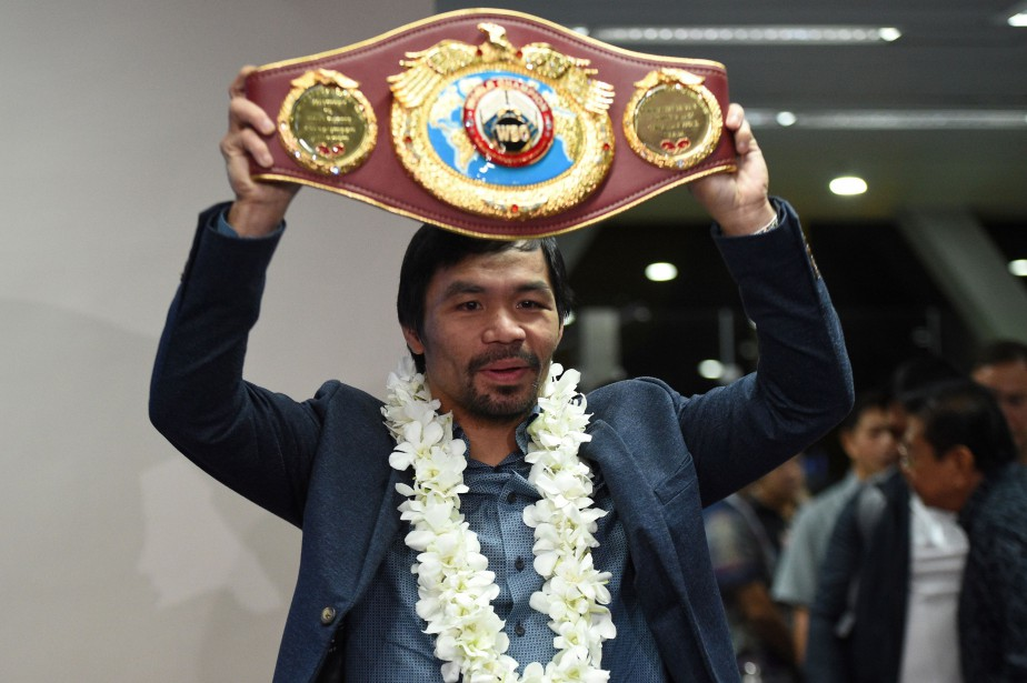 Manny Pacquiao... (Photo Ted Aljibe, archives AFP)
