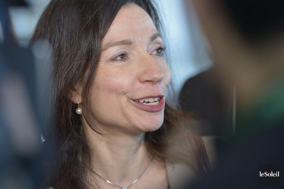 La candidate à la direction du Bloc québécois,... (Photo Yan Doublet, archives Le Soleil)