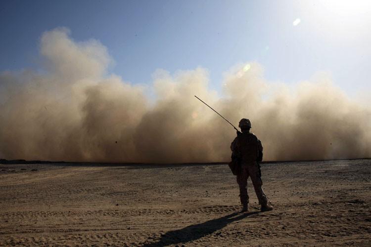 Les militaires américains avaient déjà renforcé il y... (ARCHIVES AFP)