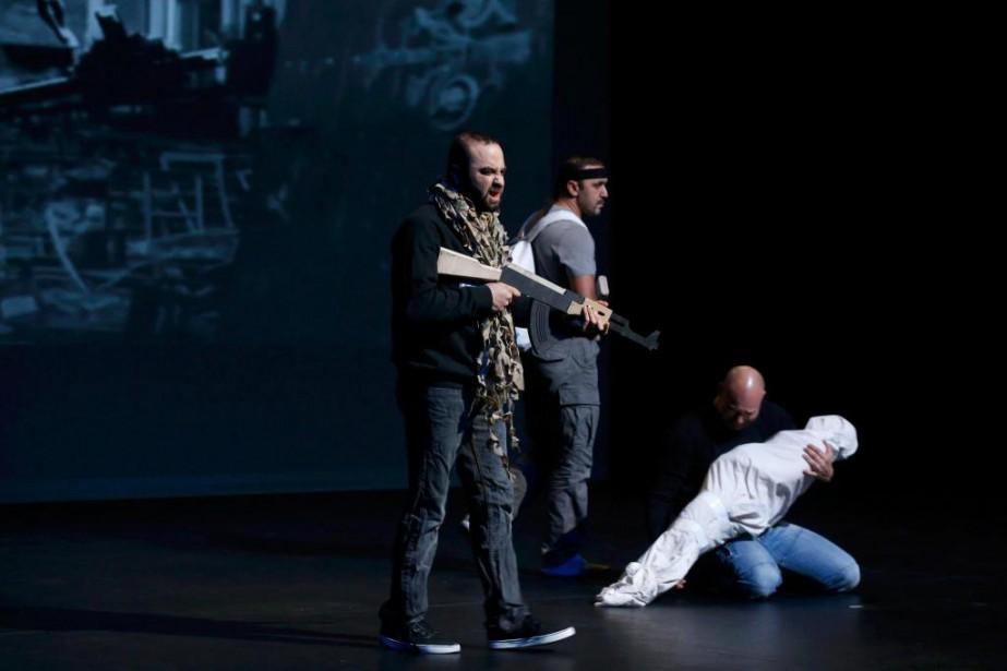 L'auteur de la pièce de théâtre belge Djihad,... (PhotoPascal Rossignol, Archives Reuters)