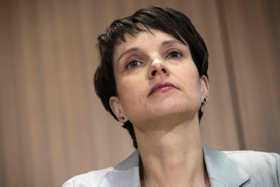 La leader de l'AfD Frauke Petry.... (Photo Odd Andersen, Agence France-Presse)