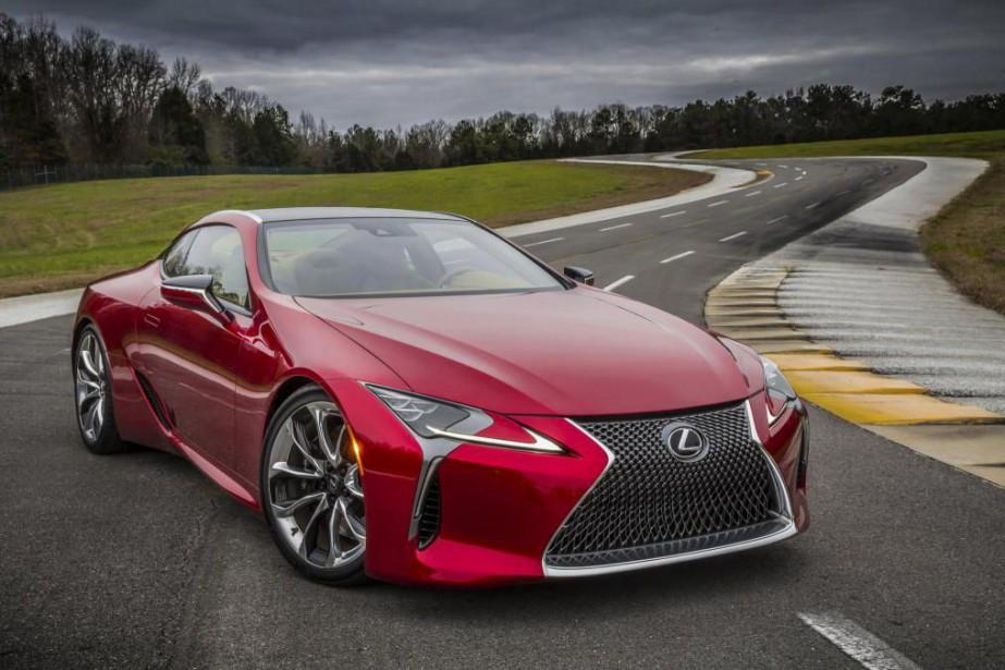 Lexus serait sur le point de dévoiler une... (PHOTO FOURNIE PAR LE CONSTRUCTEUR)