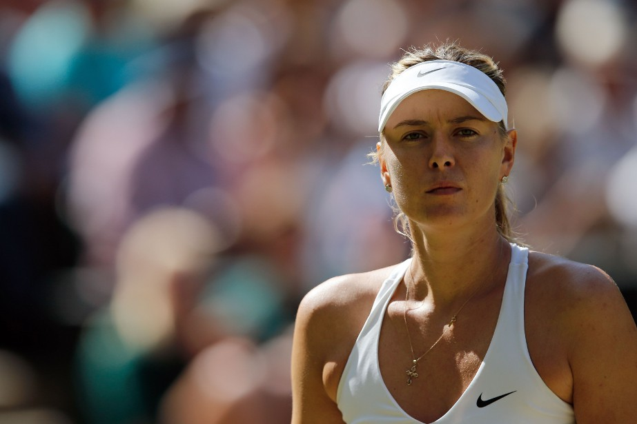 Maria Sharapova... (PHOTO ADRIAN DENNIS, ARCHIVES AFP)