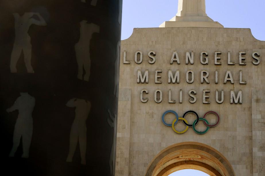 Los Angeles qui a déjà organisé les JO... (Photo Mark RALSTON, archives AFP)