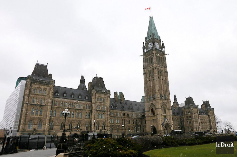 Le Parlement d'Ottawa... (Photo Simon Séguin-Bertrand, archives Le Droit)