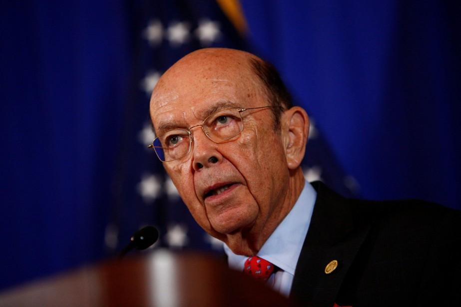 Le secrétaire du Commerce des États-Unis, Wilbur Ross.... (Photo Eric Thayer, Reuters)