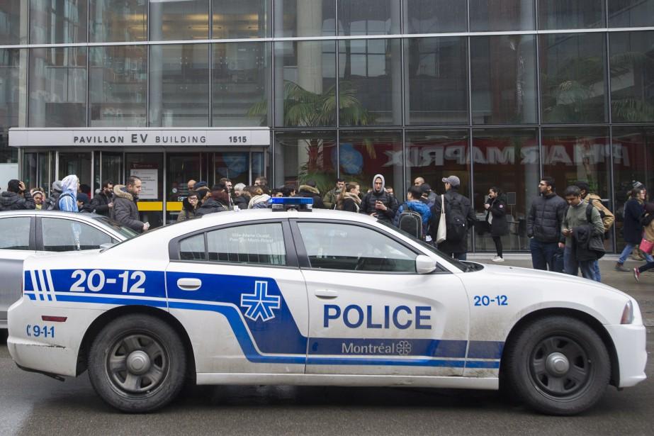 Trois pavillons de l'université anglophone de Montréal avaient... (Photo Graham Hughes, archives La Presse canadienne)
