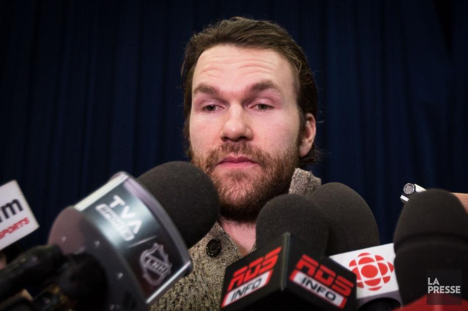 David Desharnais affrontera le Canadien dimanche, une équipe... (PHOTO SIMON GIROUX, archives LA PRESSE)