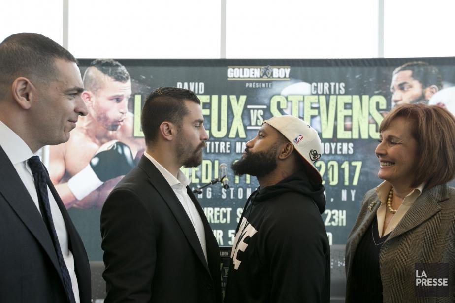 David Lemieux et Curtis Stevens s'affronteront pour les... (PHOTO FRANÇOIS ROY, archives LA PRESSE)