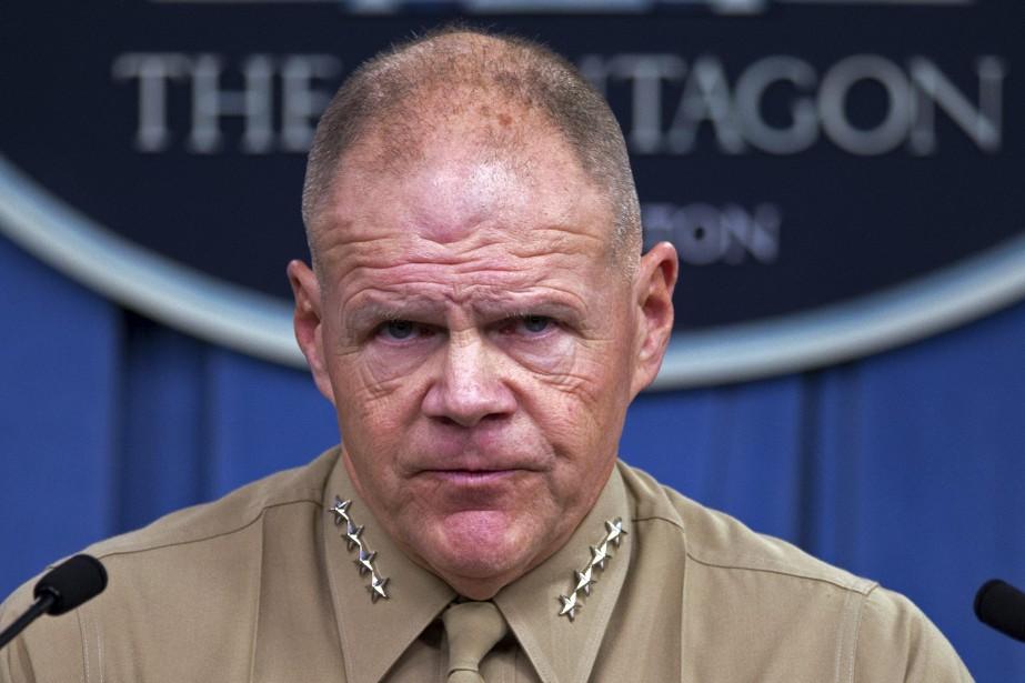 Le général Robert Neller aappelé les Marines à... (Photo Cliff Owen, AP)