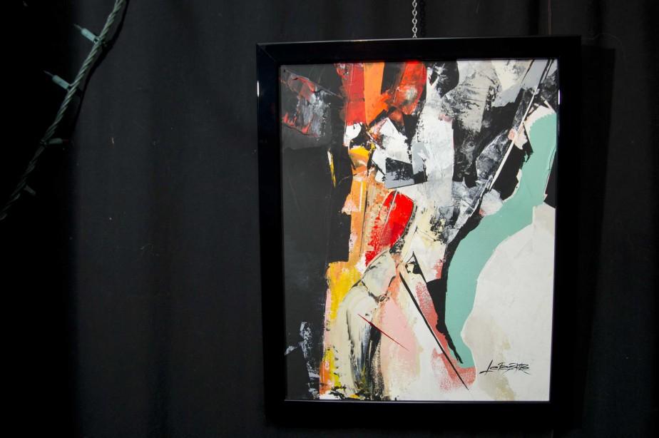 Oeuvre de l'exposition <em>Autour de la journée de la femme.</em> (Sylvain Mayer)
