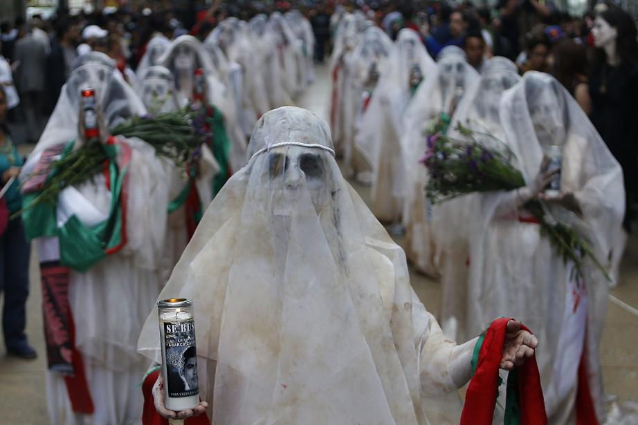 Au début du mois de mars, une marche... (Photo Marco Ugarte, AP)