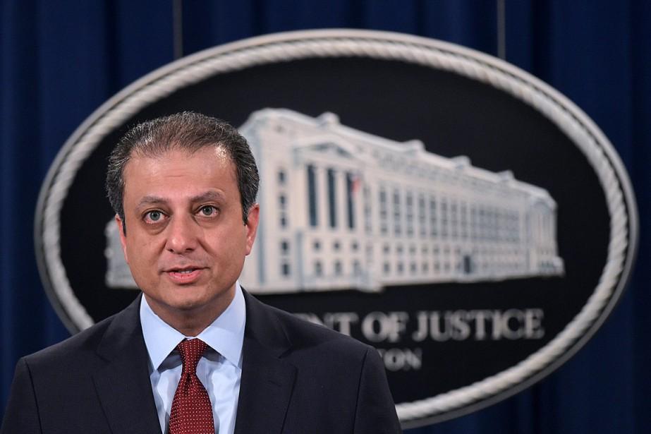Le procureur fédéral de Manhattan, Preet Bharara,était le... (PHOTO MANDEL NGAN, ARCHIVES AGENCE FRANCE-PRESSE)