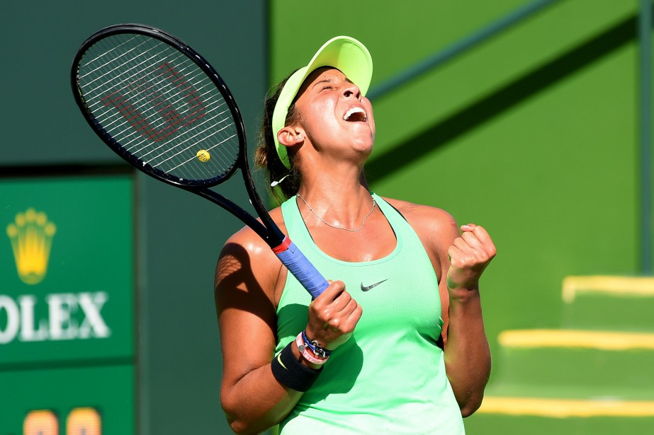 Madison Keys a vaincu Mariana Duque-Marino 6-1 et 7-5... (Photo Jayne Kamin-Oncea, USA TODAY Sports)