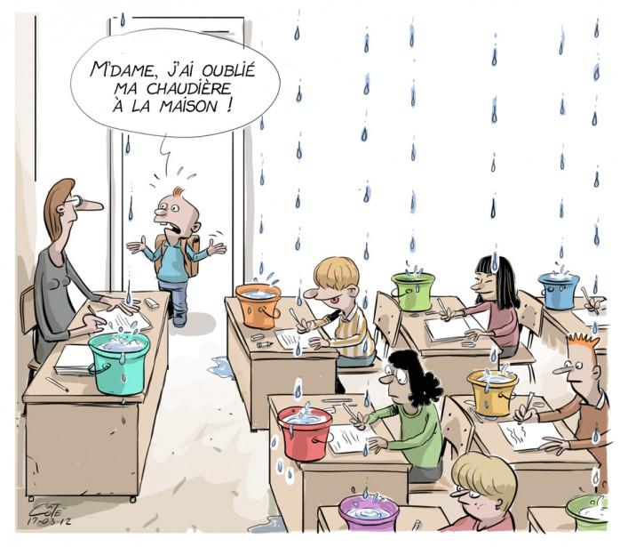 Caricature du 12 mars | 11 mars 2017