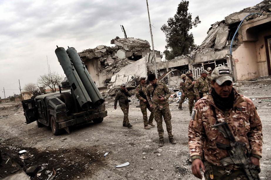 L'offensive sur Mossoul-Ouest est la seconde grande phase... (Photo Aris Messinis, Agence France-Presse)