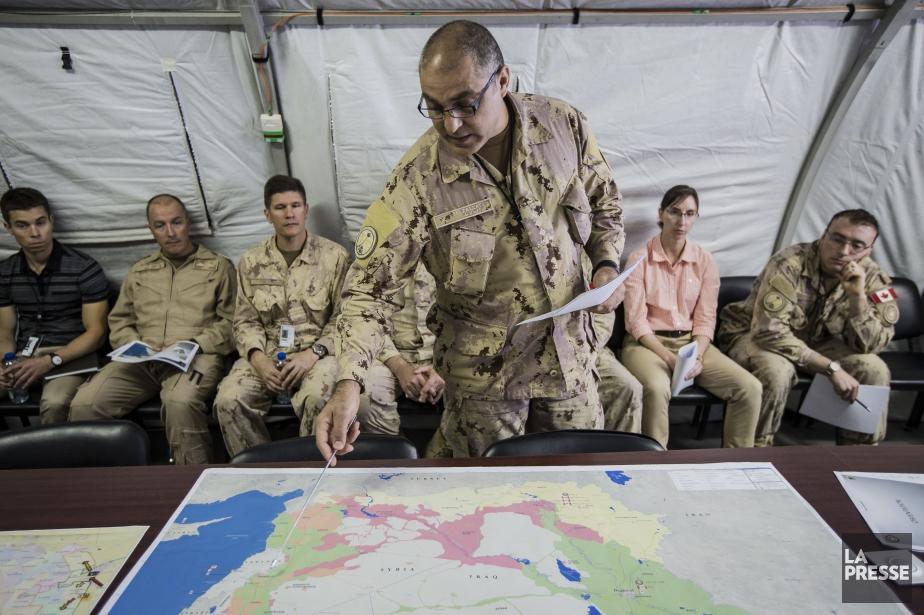Selon les informations irakiennes, la 9edivision de l'armée,... (PHOTO EDOUARD PLANTE-FRÉCHETTE, archives La Presse)
