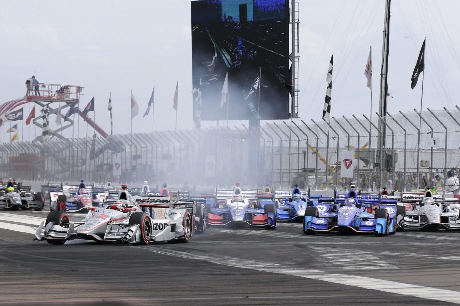 Le Grand Prix de St. Petersburg, en Floride,... (Photo Terry Renna, AP)
