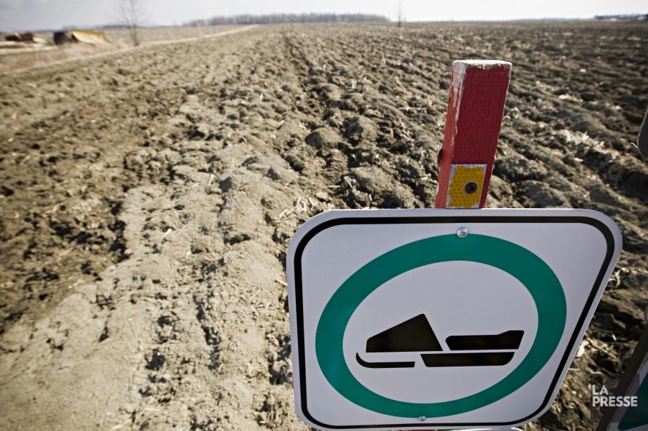 Deux accidents mortels dimanche ont impliqué des motoneigistes.... (Photo Ivanoh Demers, archives La Presse)