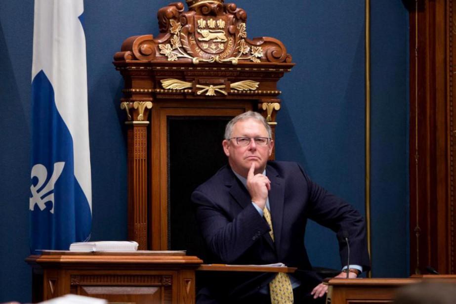 Le président de l'Assemblée nationale, Jacques Chagnon, a... (ARCHIVES PC)