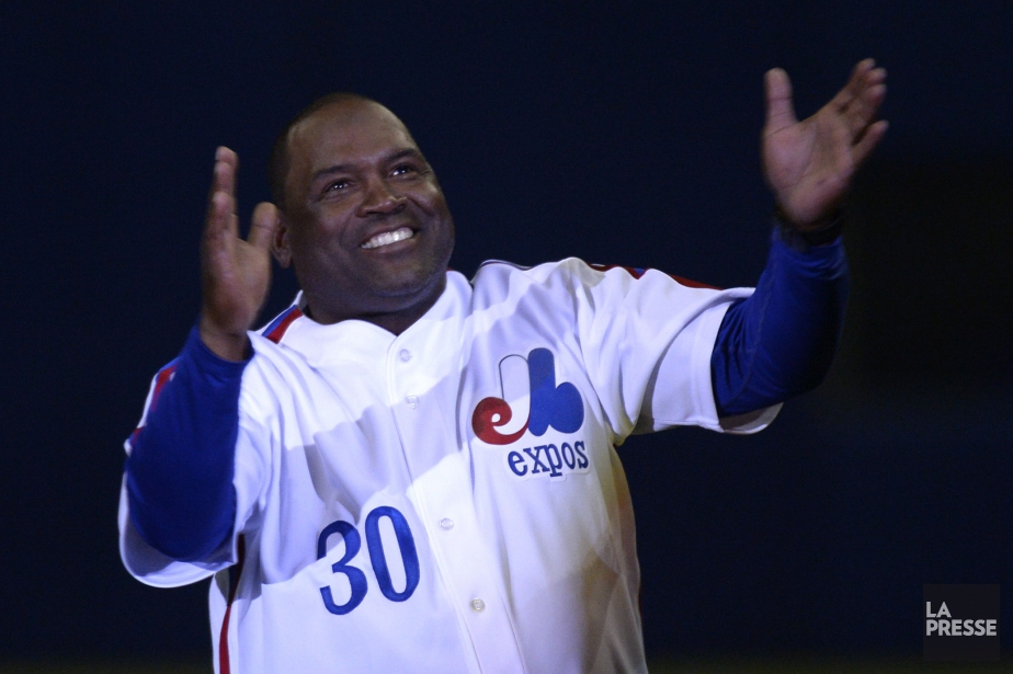 Tim Raines sera intronisé au Temple de la... (Photo Bernard Brault, archives La Presse)