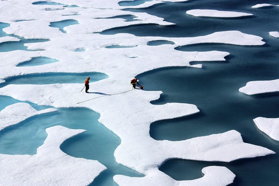Au final, l'homme, via ses émissions de gaz... (PHOTO ARCHIVES REUTERS/FOURNIE PAR LA NASA)