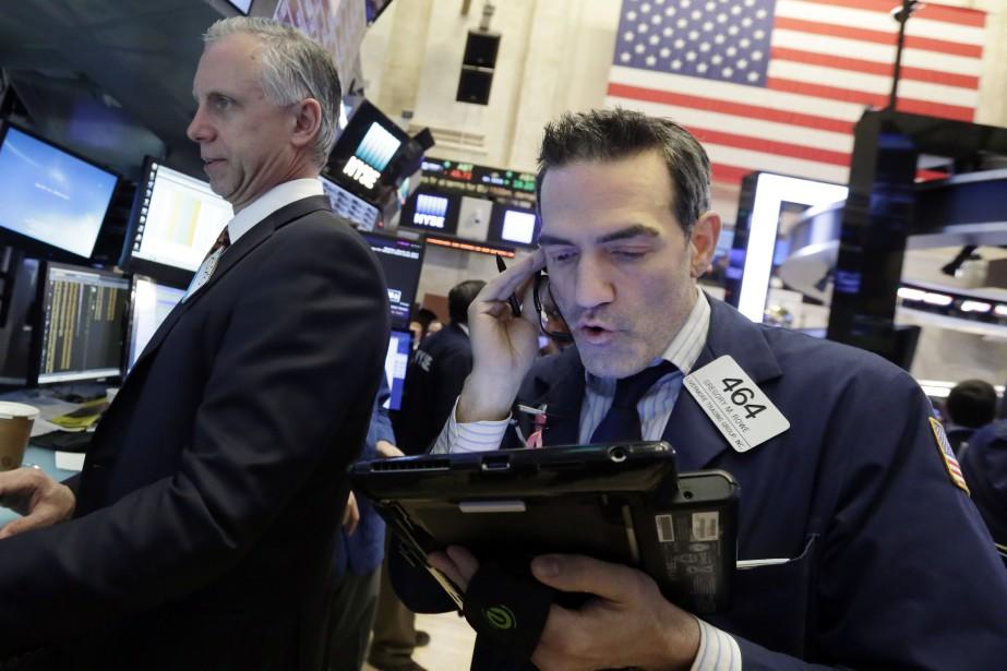 Le Dow Jones a perdu 21,50 points à... (PHOTO AP)