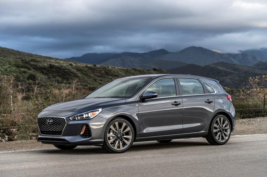 Hyundai Elantra GT 2018. (La Presse)
