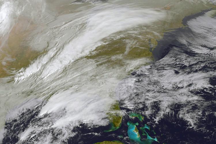 Une image de la NASA montre la formation... (PHOTO AFP)