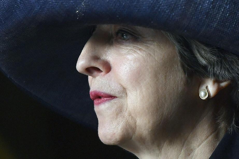 Theresa May... (Photo Ben Stansall, AP)
