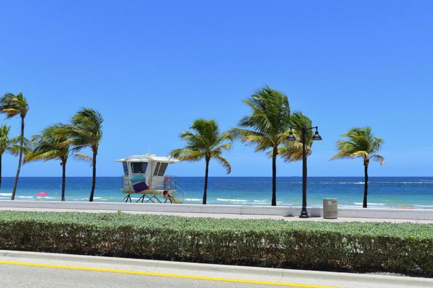 Environ 800000 Québécois se rendent en Floride chaque... (Photo Thinkstock)