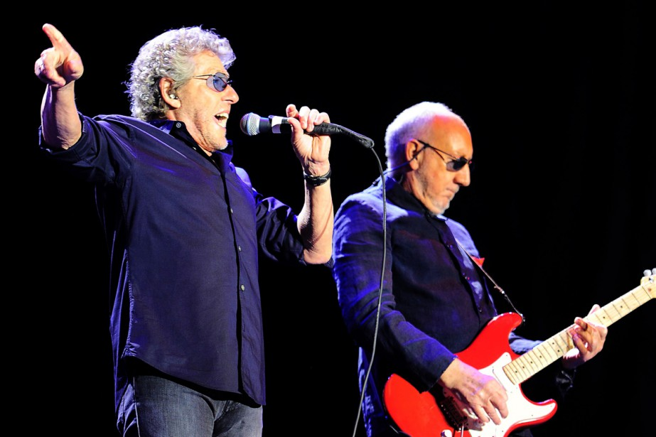 Roger Daltrey et Pete Townshend de The Who... (PHOTO ARCHIVES AFP)