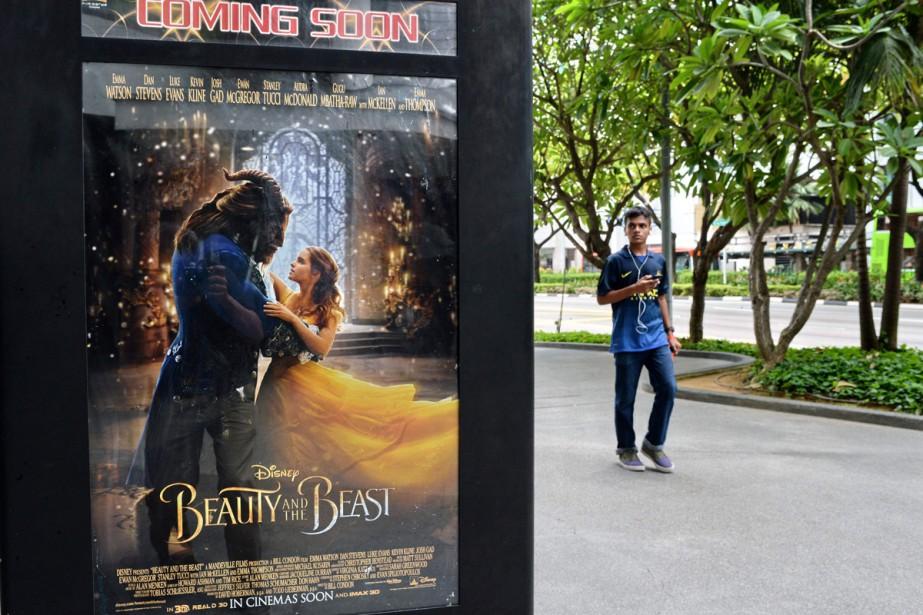 Disney a reporté sine die la diffusion en Malaisie de son nouveau... (PHOTO AFP)