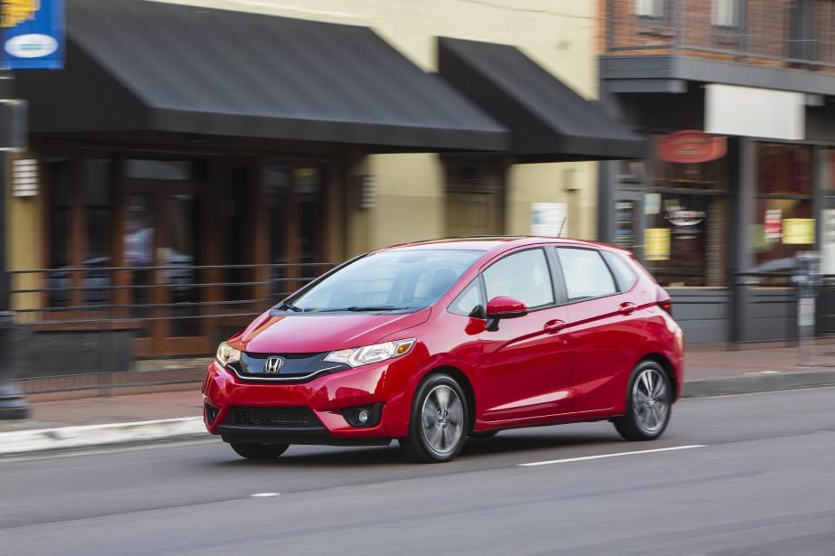 Honda Fit Sans doute la plus homogène, la plus astucieuse des sous-compactes actuellement sur le marché, rien de moins. | 14 mars 2017