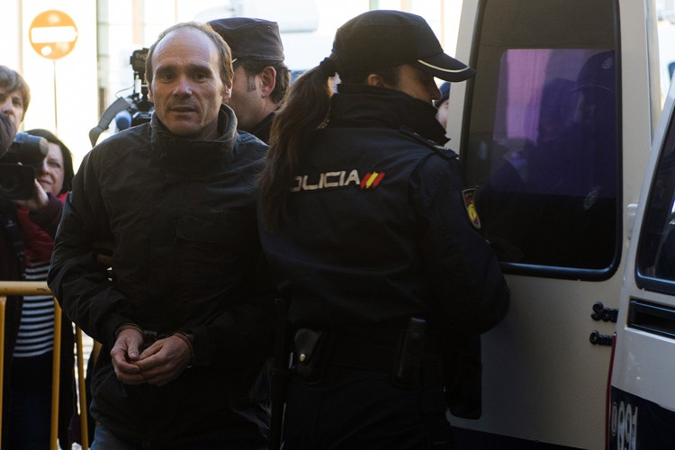 Miguel Ángel Munoz Blas risque une peine de... (PHOTO AFP)