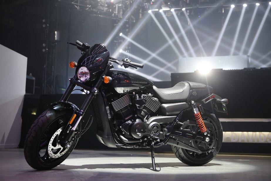 De l'avis des spécialistes, lancer une Harley sur le marché mondial à Montréal témoigne du dynamisme de la «scène moto locale». Le Québec est le plus important marché de Harley au Canada. Si les Américains sont encore très attachés à l'essence même d'une Harley, on serait ici plus ouvert au changement. (Photo Martin Chamberland, La Presse)