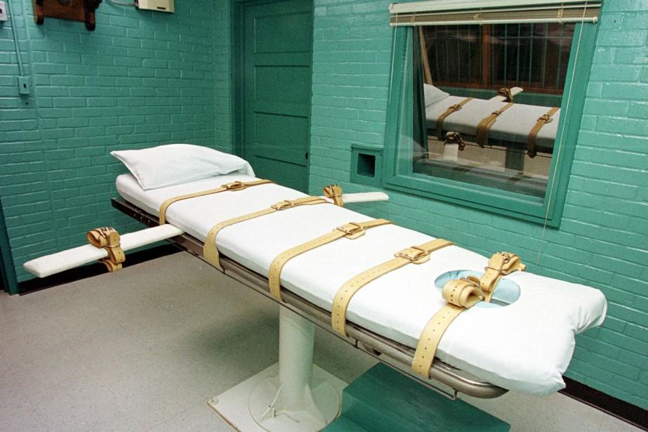 Exécuter un détenu, le «tuer», c'est une... (PHOTO PAUL BUCK, ARCHIVES AFP)