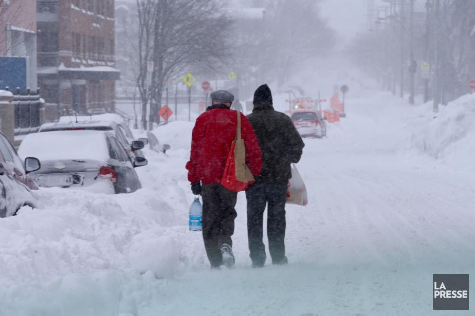 La tempête a bouleversé votre matinée,... (Photo Martin Chamberland, La Presse)