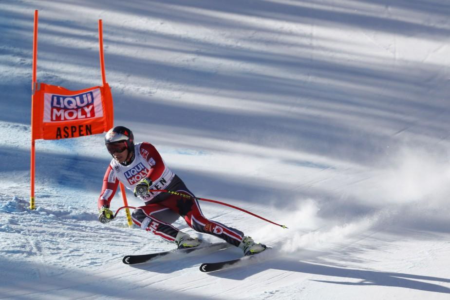 Erik Guay... (Photo Jeff Swinger, USA Today Sports)