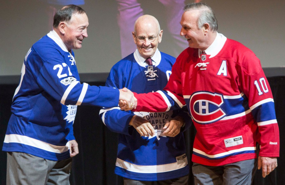 Dave Keon, Frank Mahovlich et Guy Lafleur | 15 mars 2017