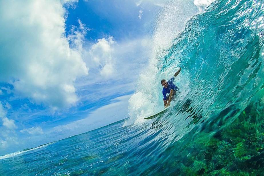 Lorsque les conditions sont optimales, les vagues à... (Photo fournie par Danny Melhado)
