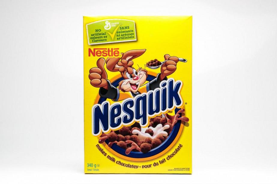 Les céréales Nesquik... (Photo Hugo-Sébastien Aubert, La Presse)