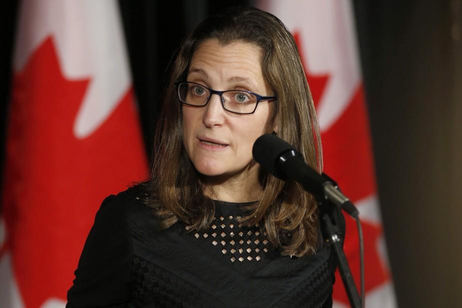 Chrystia Freeland... (Photo Todd Korol, archives La Presse canadienne)