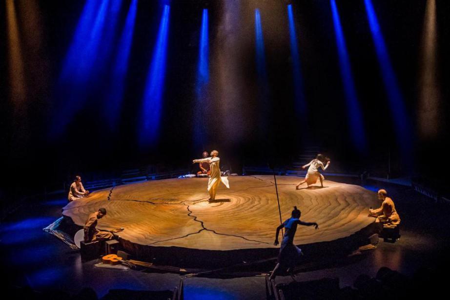La danseuse Ching-Ying Chien dansUntil the Lions... (Photo Tristram Kenton, fournie par Danse Danse)