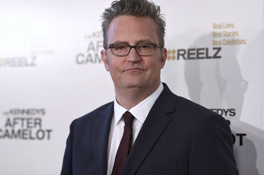 Matthew Perry... (PHOTO LA PRESSE CANADIENNE)