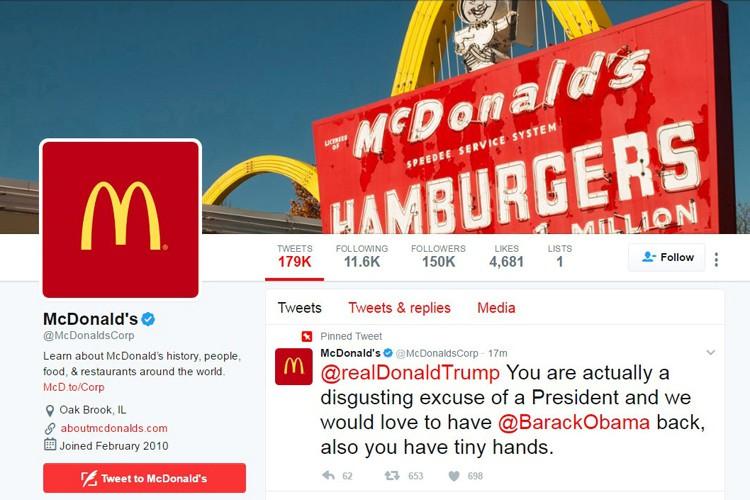 Le géant de la restauration rapide McDonald's s'est dit... (PHOTO REUTERS)