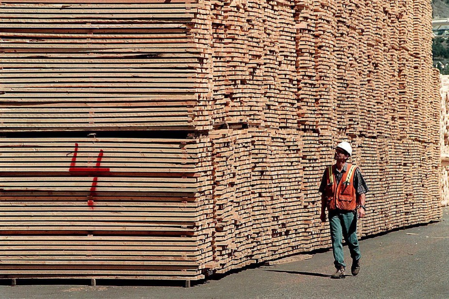 Le ton se durcit à Washington à propos du bois d'oeuvre,... (Photo archives PC)